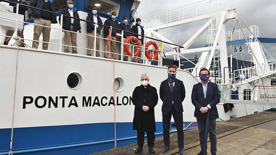 "Nueva Pescanova recibe el ""Ponta Macalonga"""