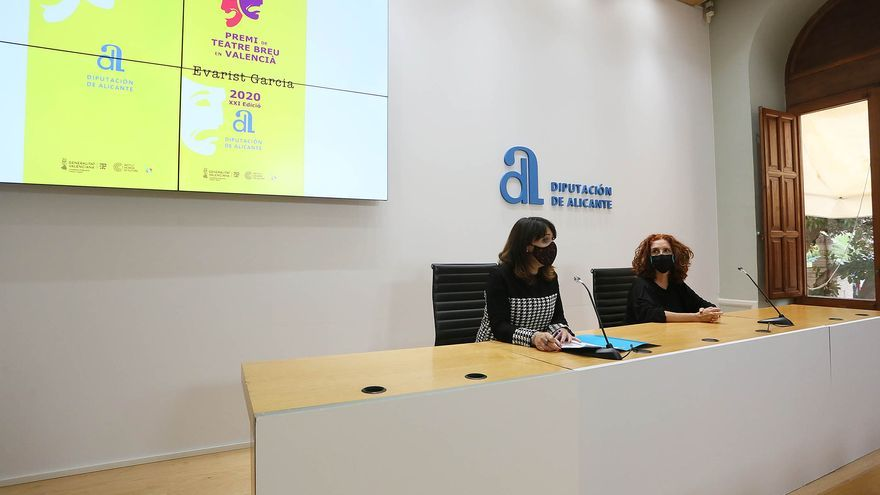 Amparo Vayà, primera mujer en ganar el Premi de Teatre Breu Evarist García
