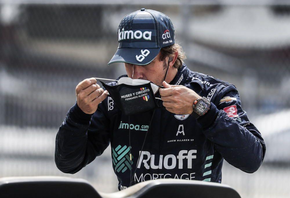 Fast-friday de Fernando Alonso en Indianapolis