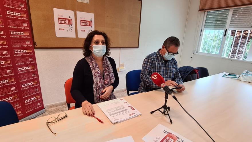 Carmen Palomar busca el relevo generacional de CC OO y garantizar la recuperación tras la pandemia
