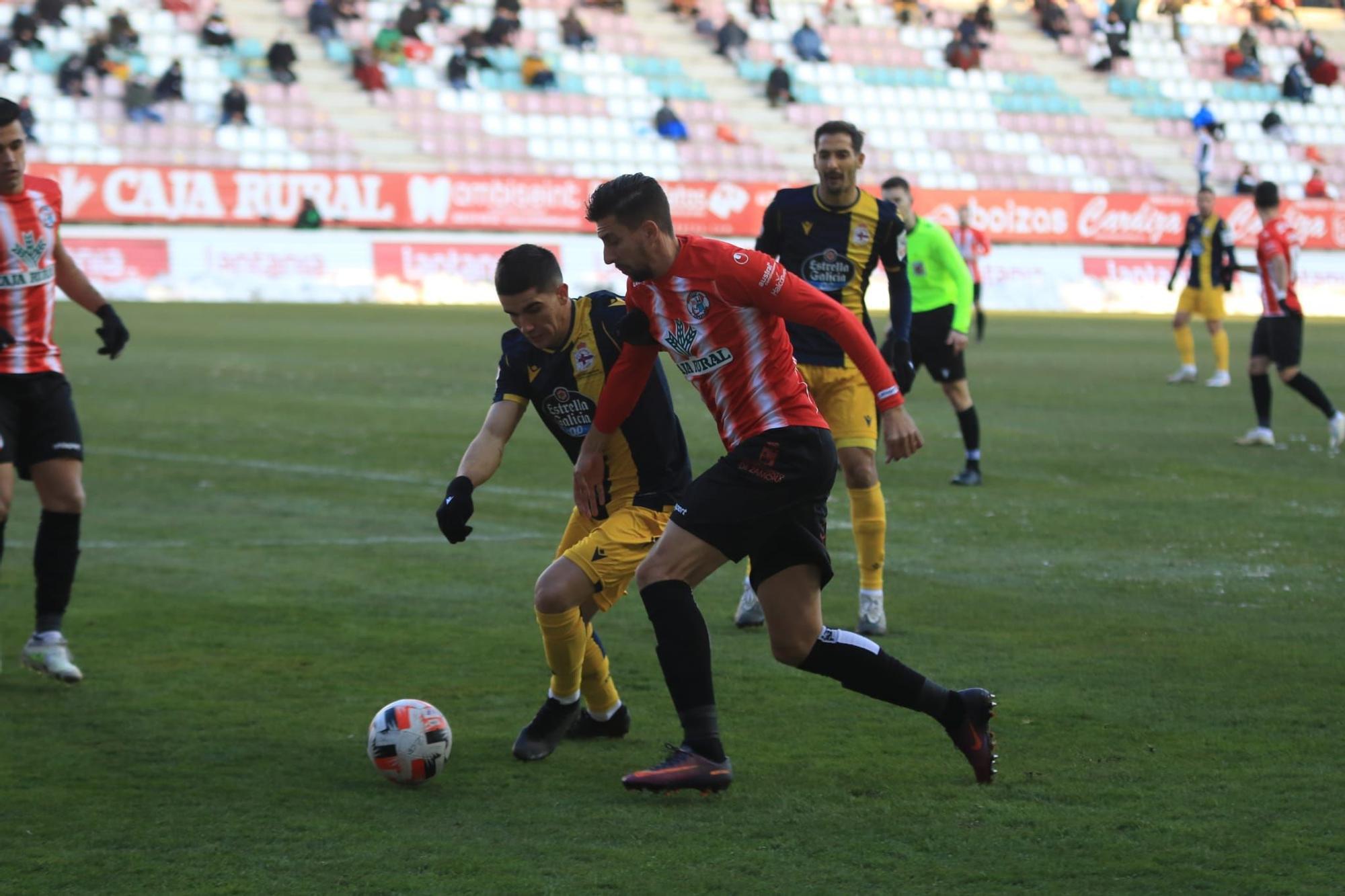 GALERÍA | El Zamora CF - Deportivo de la Coruña, en imágenes
