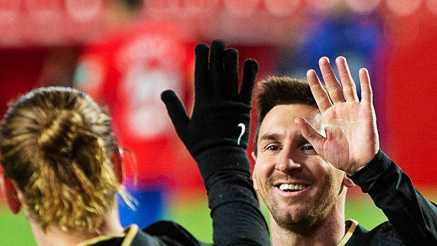 Messi comanda un nuevo Barcelona