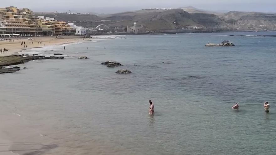 Intervalos nubosos este martes en Canarias