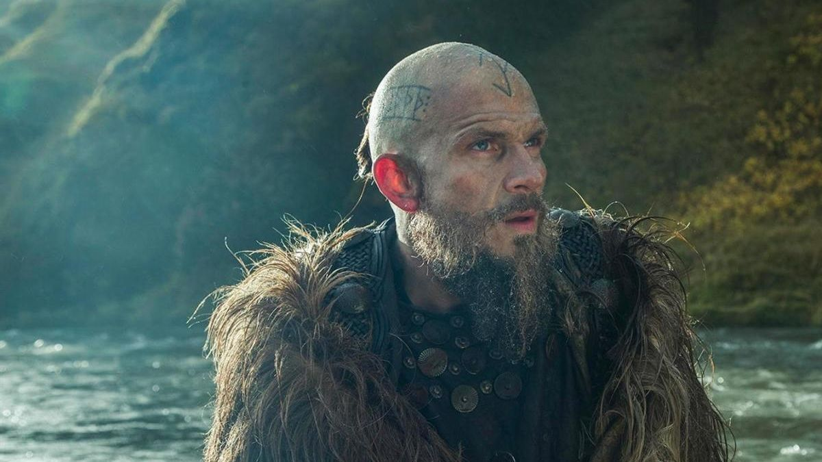 Una escena de 'Vikingos'.