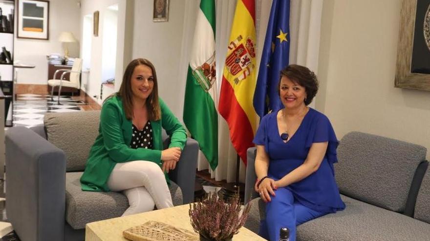 Esther Ruiz y Rafaela Valenzuela se reúnen por primera vez
