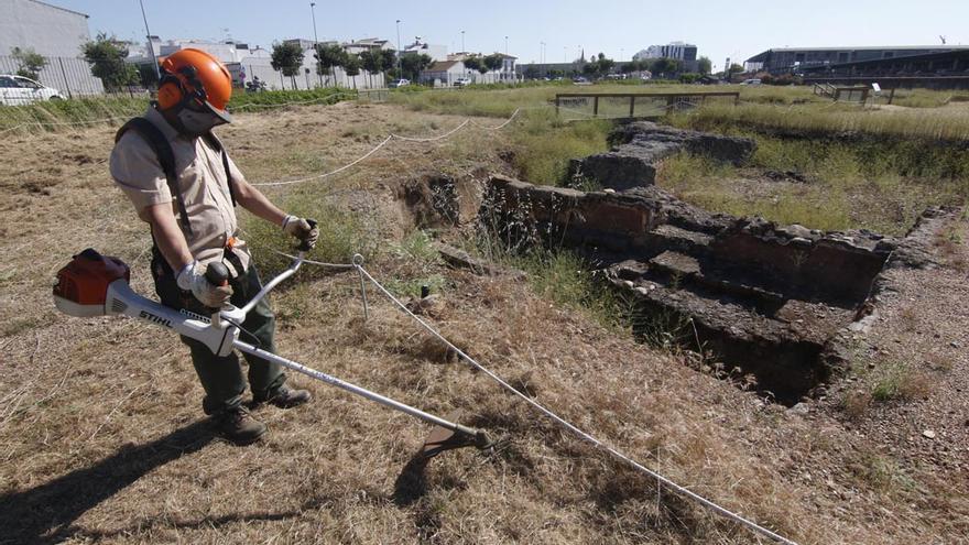 Urbanismo inicia un plan de limpieza en Cercadilla con el objetivo futuro de reactivar las visitas