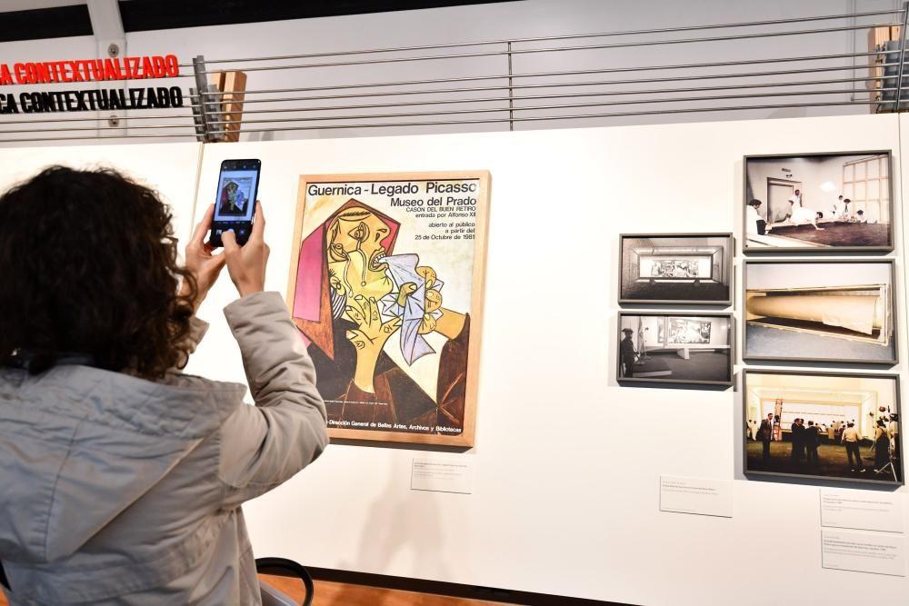 La historia que rodea al Guernica, a la luz en Pontevedra