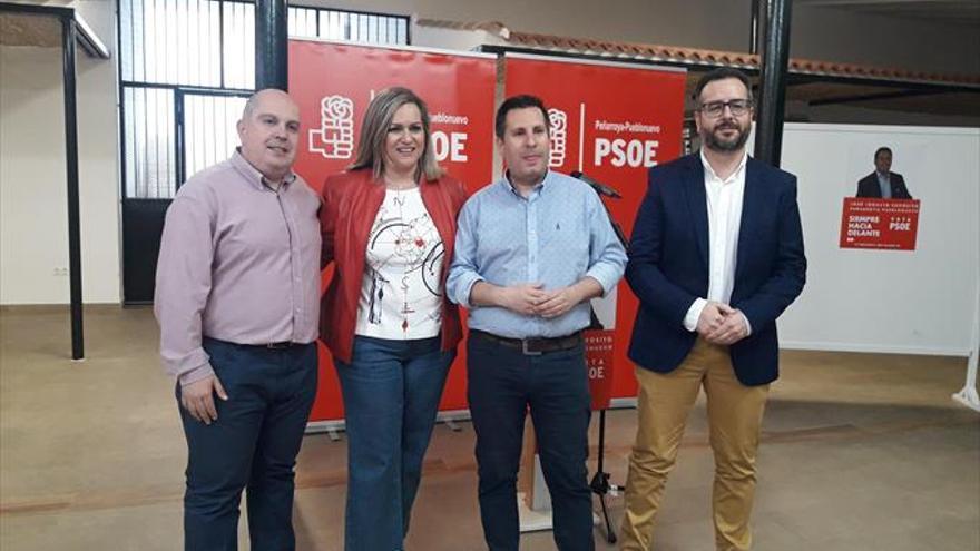 Expósito defiende la labor del PSOE por generar empleo en Peñarroya