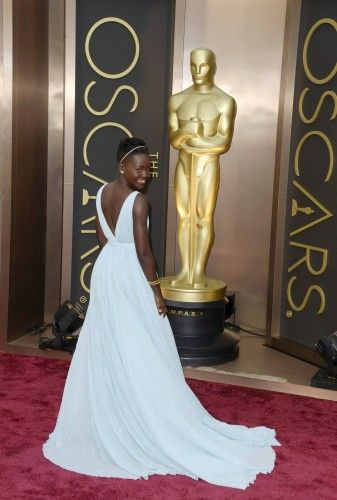 La actriz Lupita Nyongo'o.