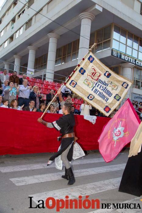 Desfile día 4 de mayo en Caravaca (Bando Cristiano