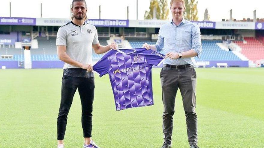 Christian Santos ya tiene nuevo equipo: el VfL Osnabrück, de la segunda división alemana