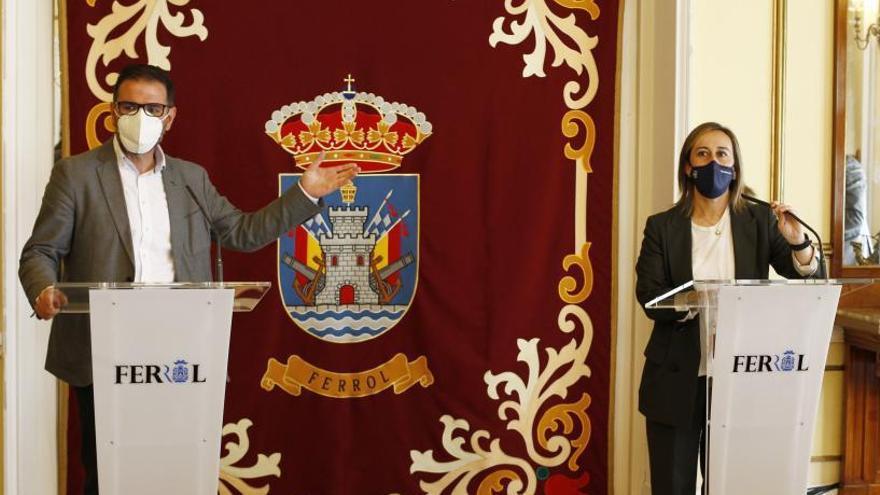 La Xunta reclamó a la UE la llegada a Ferrol del Corredor Atlántico de mercancías