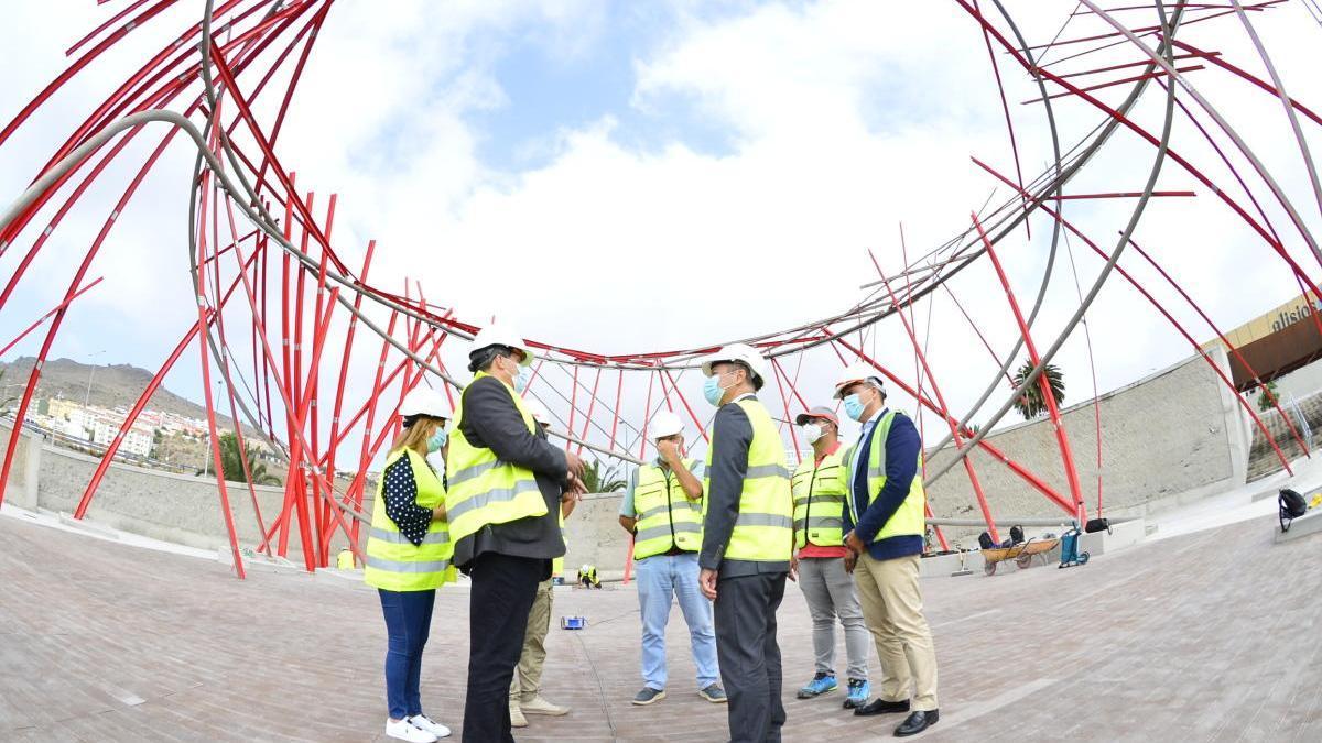 El Ayuntamiento avanza en la construcción del nuevo parque urbano en Tamaraceite Sur