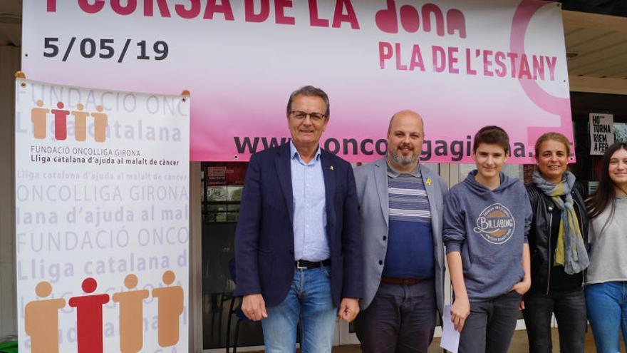 L'Oncolliga organitza a Porqueres la primera Cursa de la Dona del Pla de l'Estany
