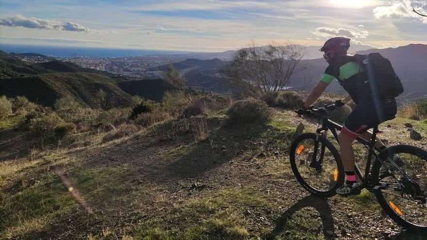 Rutas en bicicleta para principiantes en Málaga