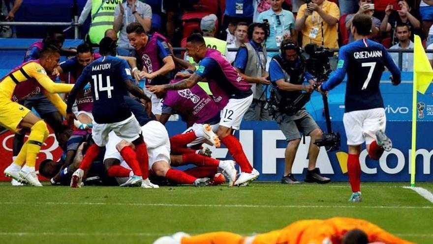 Las mejores imágenes del Francia-Argentina