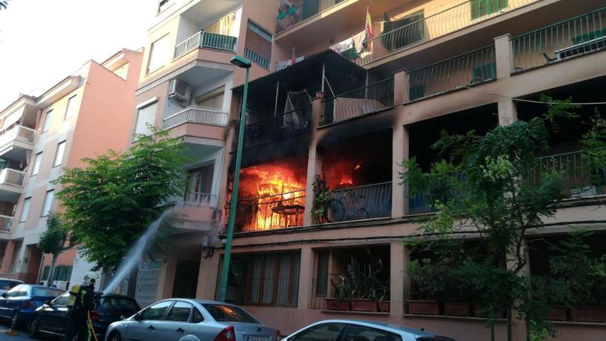 Wohnungsbrand in Arenal an der Playa de Palma