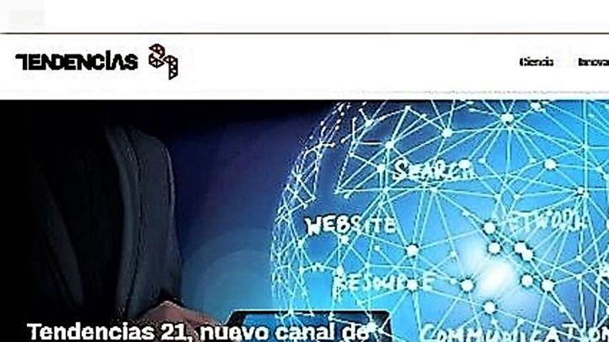 «Tendencias 21»,  la nueva web  de ciencia e innovación tecnológica de Prensa Ibérica