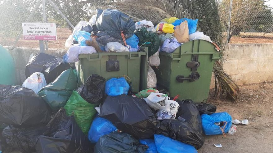 Marratxí incrementa la vigilancia contra el 'turismo de residuos'