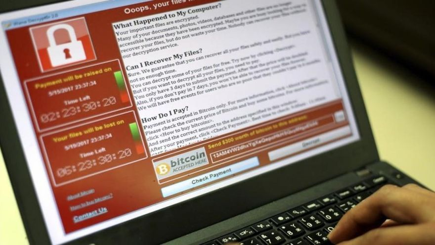 Europol afirma que el ciberataque masivo ha afectado a 200.000 víctimas