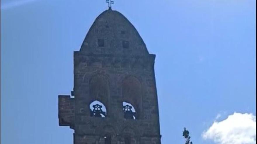 Las campanas de Mombuey suenan por el Año Jacobeo