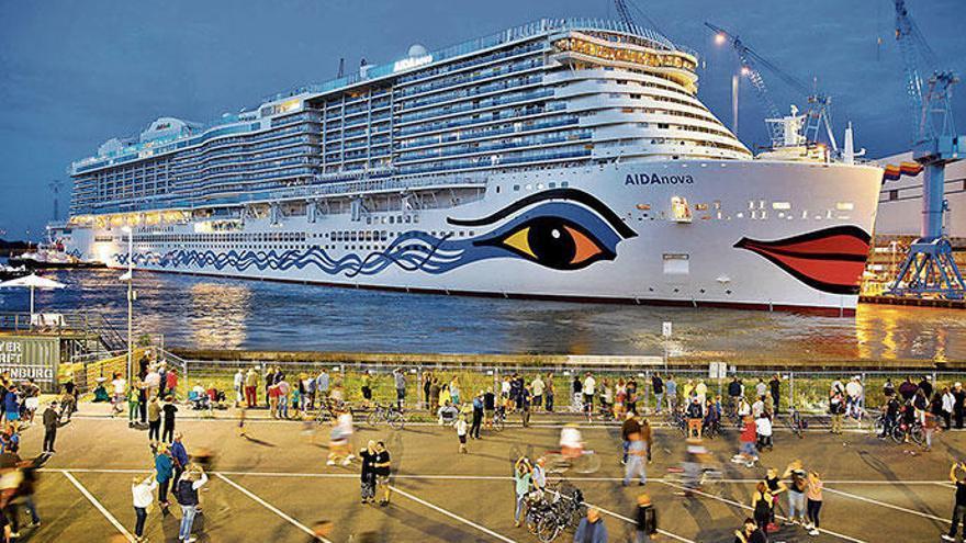 Aidas neues Kreuzfahrtschiff kommt nach Palma de Mallorca