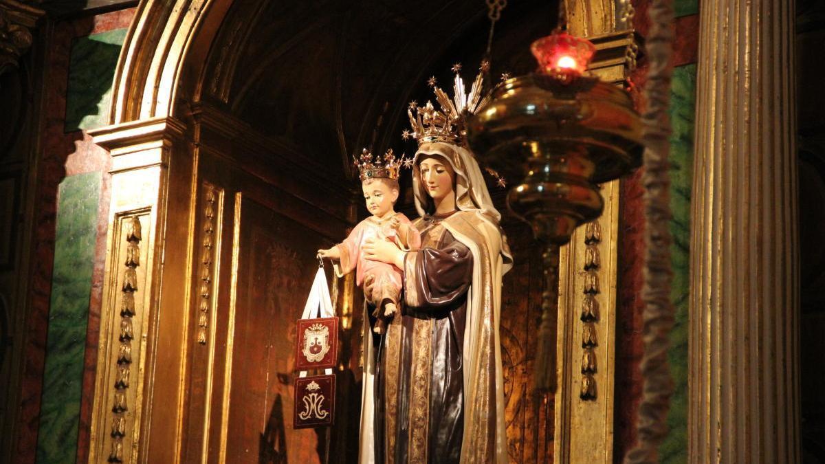 La fiesta de la Virgen del Carmen se celebra este año sin procesiones