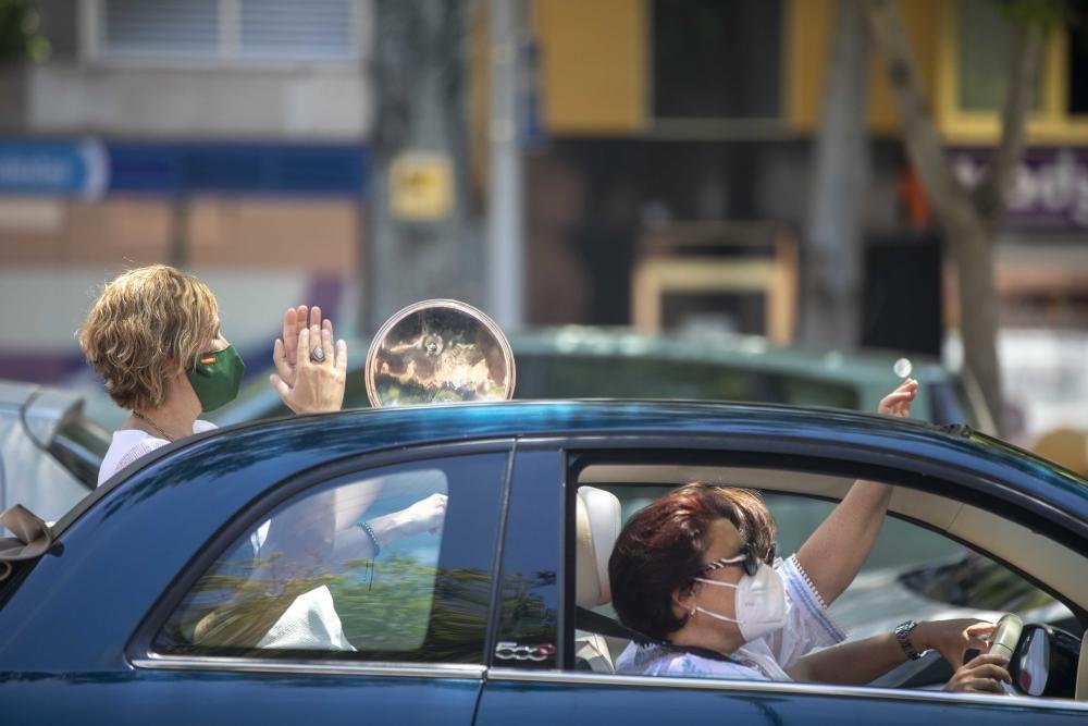 Más de 300 vehículos piden en Palma la dimisión del Gobierno