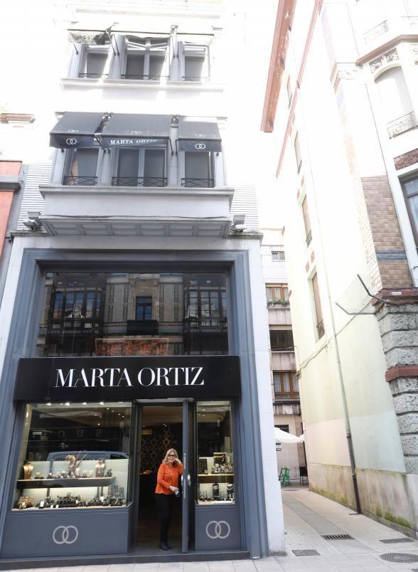 La joyera Marta Ortiz.