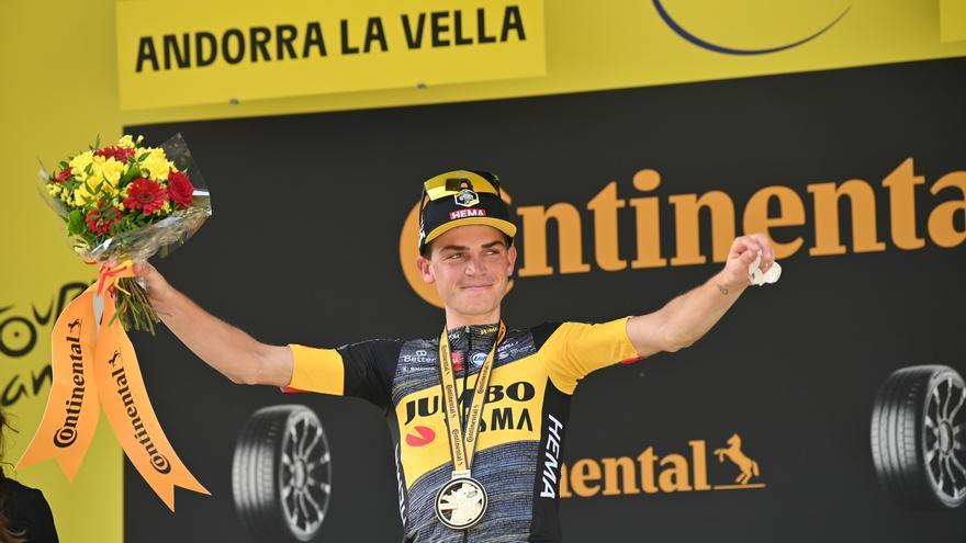 Ganador de la etapa 15 del Tour de 2021: Sepp Kuss