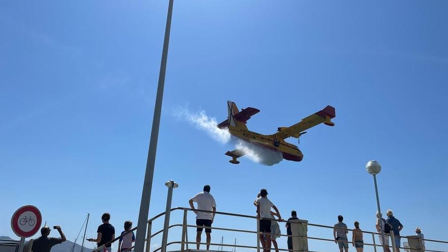 Dornier Seastar erinnert an die Zeit der Wasserflugzeuge in der Bucht von Pollença