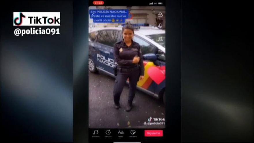 La Policía Nacional estrena canal en TikTok para llegar a los más jóvenes