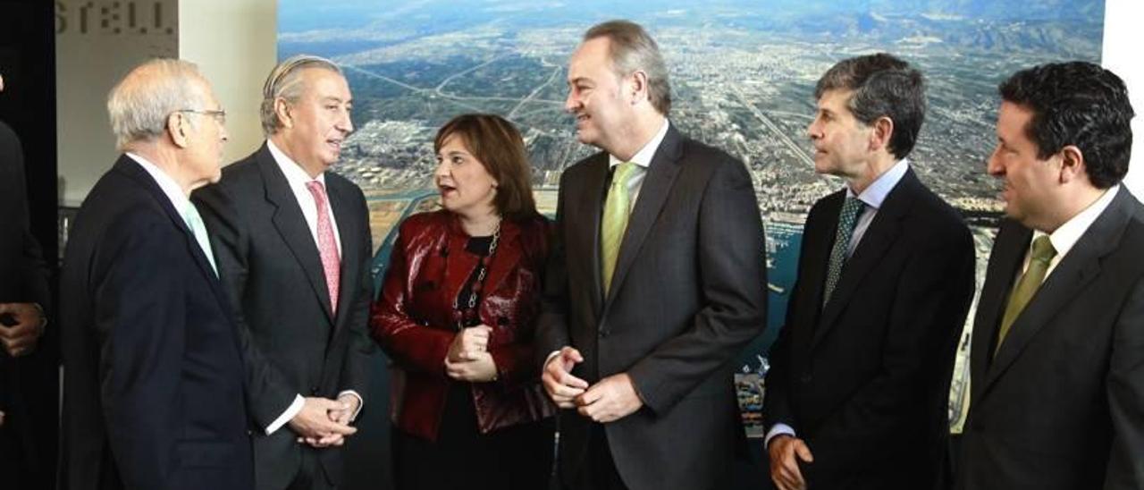 Fabra vincula los accesos al puerto  y el corredor mediterráneo con la recuperación económica de Castelló