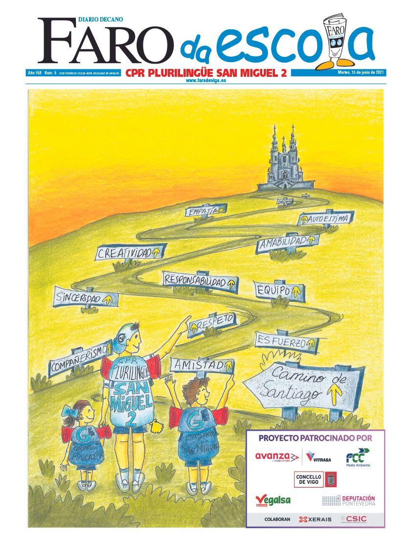 Premio portada innovadora. CPR San Miguel 2