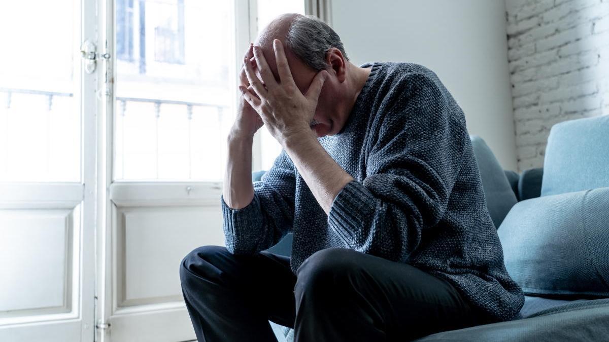 El confinamiento aumenta la depresión.