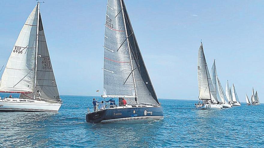 El 'M8' conquista la primera de las dos regatas del Trofeo Magdalena en el RC Náutico de Castellón