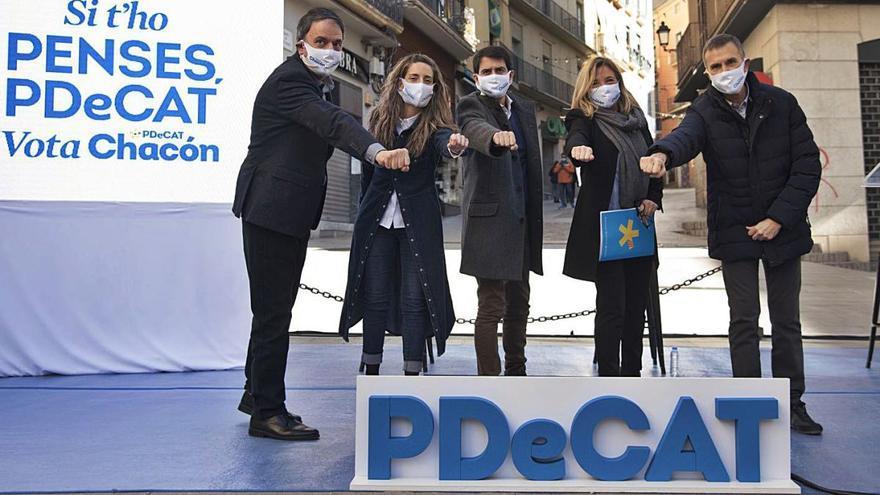 Els líders del PDeCAT recorden a Manresa que ells són els convergents