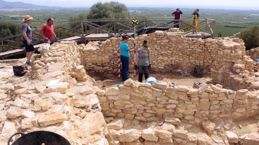 Vinaròs adelanta las tareas en el poblado ibero del Puig