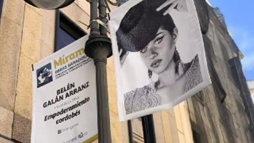 Las imágenes ganadoras del concurso 'Mírame' lucen en la calle Gondomar