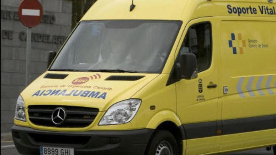 Dos heridos, uno de ellos grave, en un accidente de tráfico en Tenerife