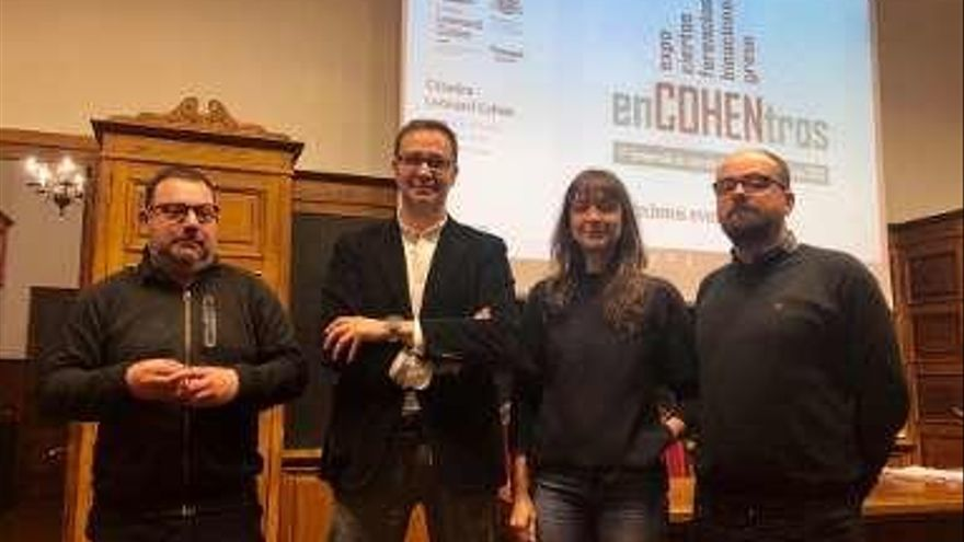 Oviedo celebra un mes de actividades en torno a la figura de Leonard Cohen