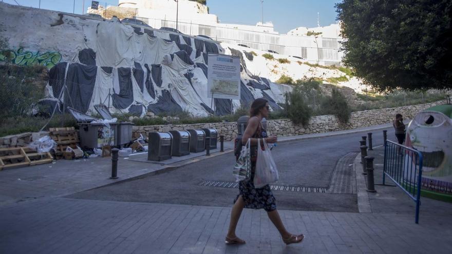 Obras para mejorar la accesibilidad en Santa Cruz y la muralla en El Portón