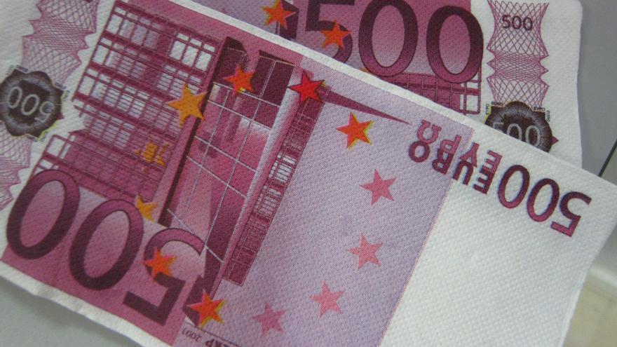 Los billetes de 500 euros en circulación registran su mínimo histórico