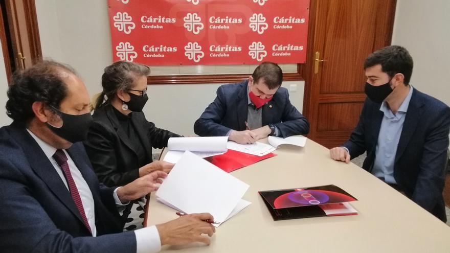 La energética EDP y la fundación EDP colaborarán en el ahorro eléctrico de las sedes de Cáritas