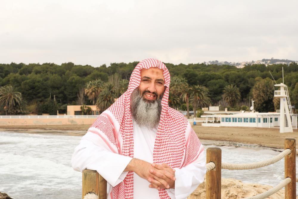 El imán en una foto de archivo en Moraira