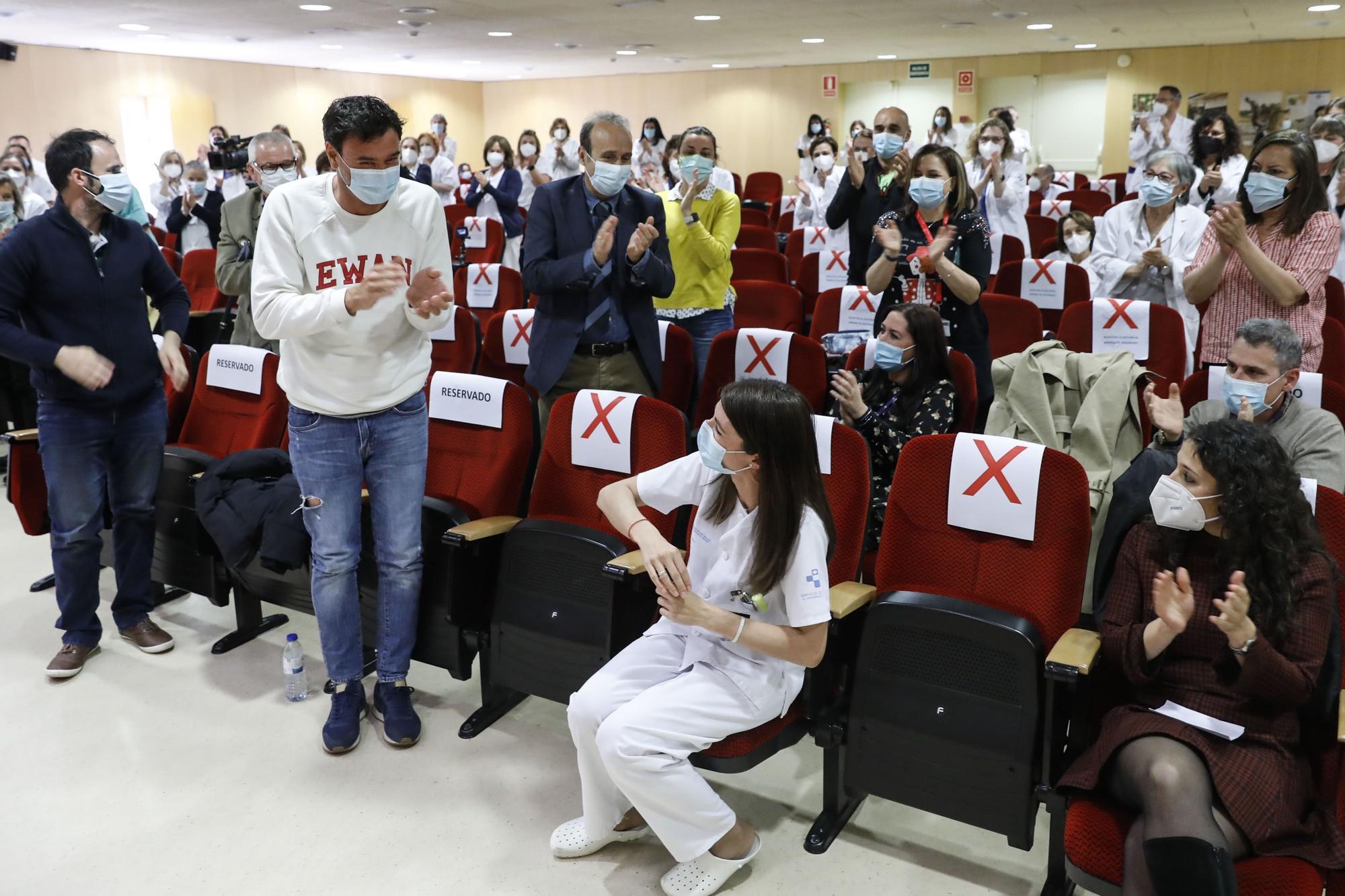 Celebración del Día de la Enfermería en el Hospital de Cabueñes