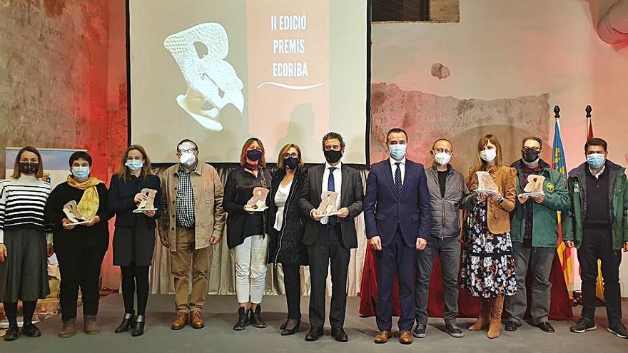 EcoRiba premia la protección del Túria y los huertos escolares