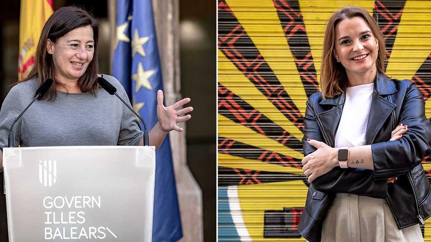 Boulevard | Armengol contra Prohens, el primer duelo femenino por el Govern