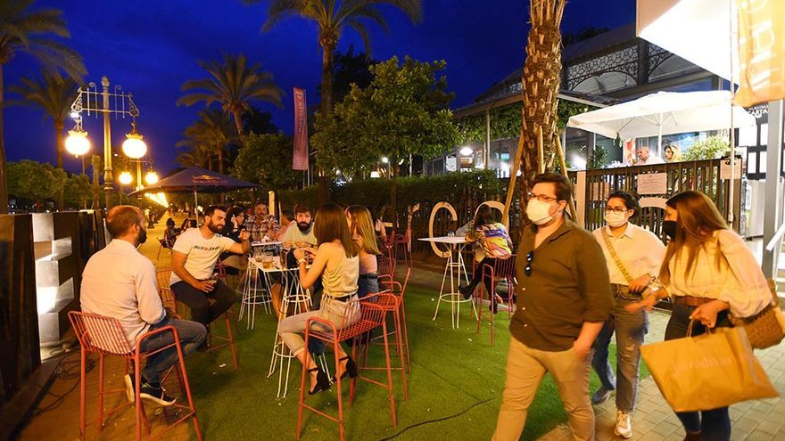 Córdoba estrena en el ecuador de los Patios la nueva normalidad