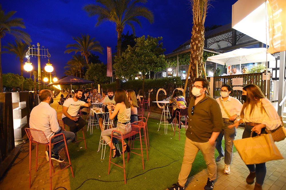 Así está Córdoba en la primera noche de toque de queda